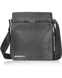 Porsche Design Black Leather Urban Bag - Lyst