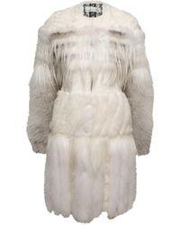 Prabal Gurung | Mixed Fur Coat | Lyst