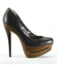 Jessica Simpson Colie Leather Platform Pumps - Lyst