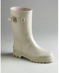 28bf705c99a MICHAEL Michael Kors - Mk Croco Mid Rainboots - Lyst