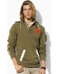 Polo Ralph Lauren Custom-fit Hooded Rugby - Lyst