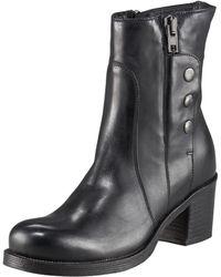 Alberto Fermani Side-zip Ankle Boot - Lyst