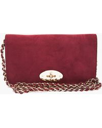 Mulberry Bayswater Clutch - Lyst