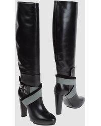 Balenciaga High Heeled Boots - Lyst