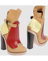 Balenciaga Ankle Boots - Lyst