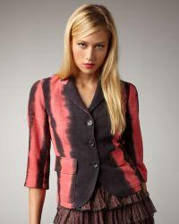 Kelly Wearstler - Ebony Tie-dye Jacket - Lyst