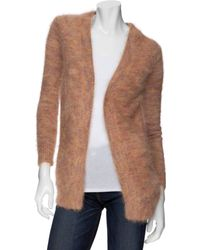 Theory Mohair Cardigan - Lyst