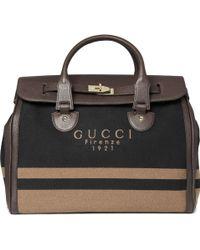 Gucci Anniversary Weekend Bag brown - Lyst
