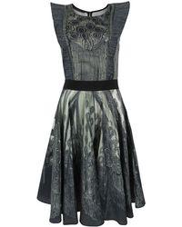 Bolongaro Trevor - Victoria Dark Grey Dress - Lyst
