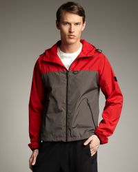 Burberry Sport - Colorblock Hooded Track Jacket - Lyst