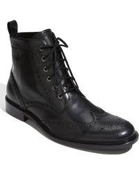 Calibrate | Dillon Wingtip Dress Boot | Lyst