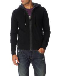 Armani Jeans Reversible Hoody - Lyst