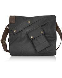 Belstaff - Side - Dark Brown Satchel Bag - Lyst
