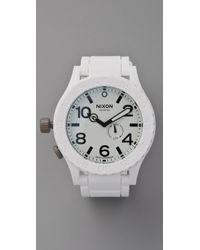 Nixon The Rubber 51-30 Watch - Lyst