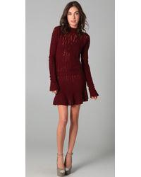 Theyskens' Theory - Knock Yara Sweater Dress - Lyst