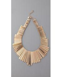 Belle Noel | Mini Dagger Collar Necklace | Lyst