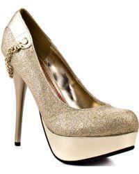 Minx Me Marlaina - Gold Glitter - Lyst