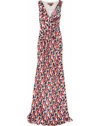 Duro Olowu Printed Silk-satin Gown - Multicolour