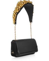 Christian Louboutin Artemis Bell-embellished Shoulder Bag - Lyst