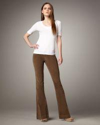 Sold Denim - Boot-cut Corduroy Trousers, Tan - Lyst