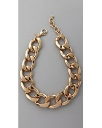 Kenneth Jay Lane - Polished Lobster Claw Necklace - Lyst