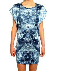 Amen Embellished Asymmetric Dress - Lyst
