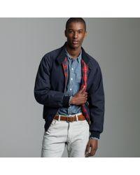 J.Crew Baracuta® G9 Wax Harrington Jacket - Lyst