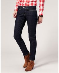 Levi's Levis Curve Id Demi Curve Clean Superstretch Skinny Jeans - Lyst