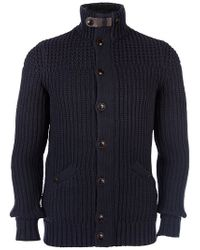 Ted Baker Chunky Button Cardigan Navy - Blue