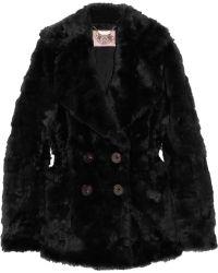 Juicy Couture - Faux Fur Coat - Lyst