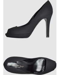 Martin Clay Pumps With Open Toe - Lyst