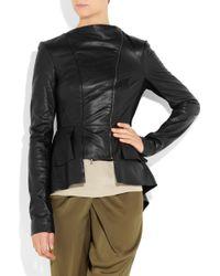 Willow - Asymmetric Leather Jacket - Lyst