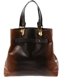 Christian Louboutin Sybil Reversible Leather Bag with Purse - Lyst