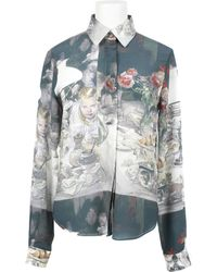 Rodarte x Opening Ceremony | All Over Print Crepe Silk Shirt | Lyst