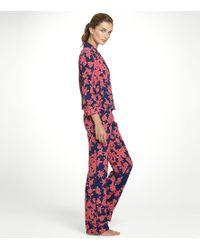 Tory Burch Luella Pajama Set - Blue