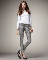 Bleu Lab - Reversible Denim Leggings - Lyst