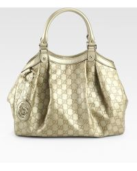 Gucci Sukey Medium Ssima Tote Bag - Lyst