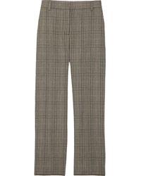Marc Jacobs Plaid Wool Pants - Lyst