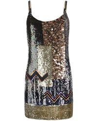 AllSaints Bloque Dress - Lyst