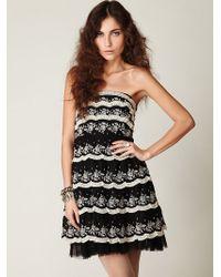 Free People Bebop Lace Dress - Lyst