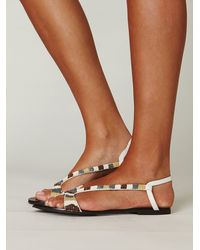 Free People Nyle Bead Sandal - Lyst