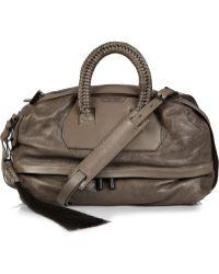 Helmut Lang Primal Two-tone Leather Shoulder Bag - Lyst