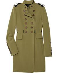 Burberry Prorsum - Jersey Military Coat - Lyst