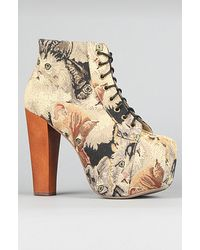 Jeffrey Campbell The Lita Shoe in Cat Tapestry - Lyst