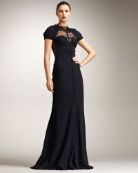 Nina Ricci Lace-back Gown - Lyst