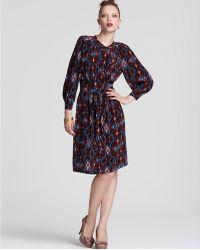 Plenty by Tracy Reese Quotation: Cummerbund Shirt Dress - Lyst