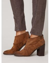 Free People Shale Ankle Boot - Lyst
