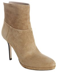 Jimmy Choo Whiskey Suede Action Sue Ankle Boots - Lyst