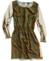 Madewell Paisley Bloom Dress - Lyst
