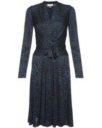 Issa Wrap Dress - Lyst